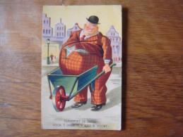 Humour : Transport De Tripes ! ( Brouette ) - Voor 't Oogenblik Kan Ik Voort ! ( Kruiwagen ) - Humor