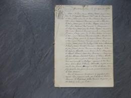 49 Beaupréau, Torfou, 1873, Procès Succession Chenoir, Jamet, Vincent, Dugast, Guéry, Etc TOP Généalogie ; Ref 860 VP17 - Documents Historiques