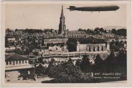 BERN - ZEPPELIN - Old Postcard , Travelled 1931 - BE Berne
