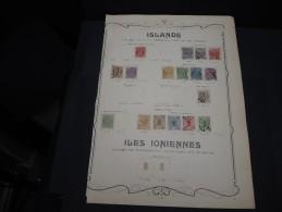 ISLANDE - Collection Avec De Nombreux Neufs Première Charnière - Bonnes Valeurs - A Voir - P20330 - Collections, Lots & Séries