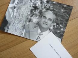 Alain PEYREFITTE (1925-1999) Ministre JUSTICE - ACADEMIE FRANCAISE - Autographe - Autographs