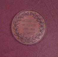 Médaille - HOTEL DE VILLE - 1er EXAMEN - 1866 - Professionnels / De Société