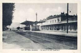 Le Teil – La Gare P.L.M. (intérieur) - Le Teil