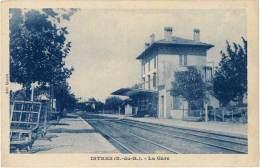 Istres – La Gare – A. Tardy, Phot. Edit. - Istres