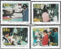 Südafrika - Venda 258-261 (kompl.Ausg.) Postfrisch 1981 Schuhindustrie - Venda