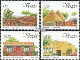 Südafrika - Venda 99-102 (kompl.Ausg.) Postfrisch 1984 Unabhängigkeit - Venda