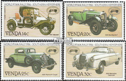 Südafrika - Venda 146-149 (kompl.Ausg.) Postfrisch 1986 Autoveteranen-Rallye - Venda