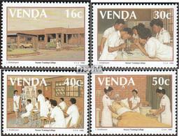 Südafrika - Venda 175-178 (kompl.Ausg.) Postfrisch 1988 Schwesternschule - Venda