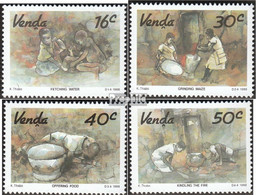 Südafrika - Venda 179-182 (kompl.Ausg.) Postfrisch 1988 Kunst - Venda