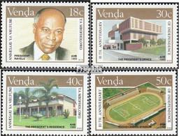 Südafrika - Venda 196-199 (kompl.Ausg.) Postfrisch 1989 Unabhängigkeit - Venda