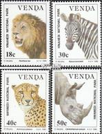 Südafrika - Venda 200y-203y (kompl.Ausg.) Postfrisch 1990 Nwanedi-Nationalpark - Venda