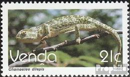 Südafrika - Venda 208 (kompl.Ausg.) Postfrisch 1990 Freimarke: Reptilien - Venda