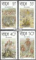 Südafrika - Venda 209-212 (kompl.Ausg.) Postfrisch 1990 Aloen - Venda