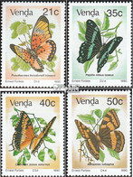 Südafrika - Venda 213-216 (kompl.Ausg.) Postfrisch 1990 Schmetterlinge - Venda