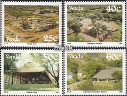 Südafrika - Venda 225-228 (kompl.Ausg.) Postfrisch 1991 Tourismus - Venda