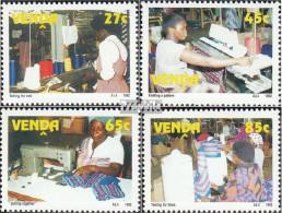Südafrika - Venda 233-236 (kompl.Ausg.) Postfrisch 1992 Bekleidungsindustrie - Venda