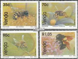 Südafrika - Venda 237-240 (kompl.Ausg.) Postfrisch 1992 Bienenarten - Venda