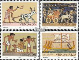 Südafrika - Venda 242-245 (kompl.Ausg.) Postfrisch 1992 Erfindungen - Venda