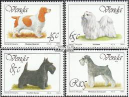 Südafrika - Venda 266-269 (kompl.Ausg.) Postfrisch 1994 Hunde - Venda
