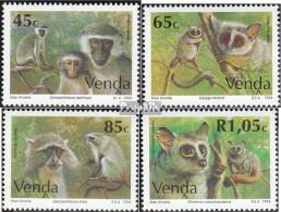 Südafrika - Venda 270-273 (kompl.Ausg.) Postfrisch 1994 Affen - Venda