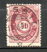 NORVEGE   1877-78  (o)    Y&T N° 30     P14.5x13.5 - Usados