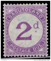 Basutoland 1952, Postage Due, 1p, Used - Portomarken