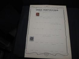 INDES PORTUGAISES - Collection Avec De Nombreux Neufs Première Charnière - A Voir - P20343 - Inde Portugaise