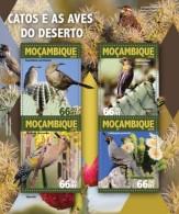 Mozambique. 2016 Cactus And Birds. (106a) - Sukkulenten