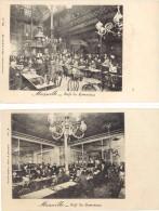 2 CPA – Marseille – Café Du Commerce - Marseille
