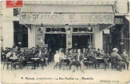 Marseille – P. Ricaud, Propriétaire, 14 Rue Noailles (Brasserie De Bohème) - Marseille