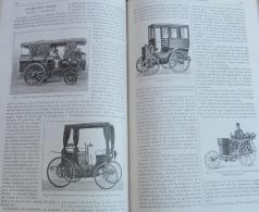 MAGASIN PITTORESQUE1894N°19:TRICYCLE VAPEUR R.DE MONTAIS/BREACK M.LE BLANT/PEUGEOT/PANHARD-LEVASSOR/SOLEILS DE MARACAIBO - Revistas - Antes 1900