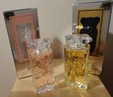 """Salvador Dali   """"La Belle Et L'Ocelot"""" Lot De 2 Pièces : Eau De Toilette Et Eau De Parfum 5ml - Miniatures Modernes (à Partir De 1961)"""