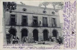 Roujan – L'Hôtel De Ville – Le Marché - France