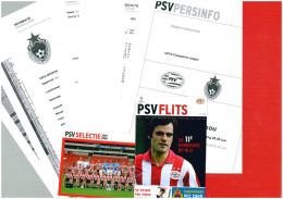 Press Kit Football 2007 2008 PSV Eindhoven (Holland) V CSKA Moscow (Russia Soviet Union) UEFA Champions League PSV Ed... - Books
