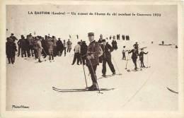 La Bastide – Un Aspect Du Champ De Ski Pendant Le Concours 1932 - France