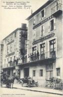 Langogne – Hôtel De La Poste – Garage, Autos En Location … ( Diligence ) - Langogne