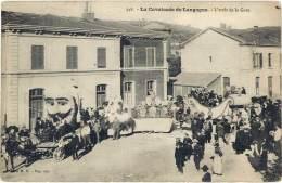 Langogne – 948 La Cavalcade De L. – L'Arrêt De La Gare - Langogne