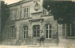 Cpa DAMAS AUX BOIS 88 La Mairie - Frankreich