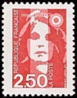 France Marianne Du Bicentenaire N° 2715 ** Briat - Le 2f50 Rouge - 1989-96 Marianne (Zweihunderjahrfeier)