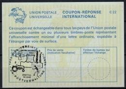 UNITED NATIONS VIENNA  ENTWICKLUNGSARBEIT O ERSTTAG 14.03.86 ( No. 2 ) On Int Reply Coupon Reponse IRC IAS Antwortschein - Cartas