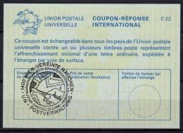 UNITED NATIONS VIENNA  BRIEFMARKEN SAMMELN O ERSTTAG 22.05.86 ( No. 2 ) On Int. Reply Coupon Reponse IRC IAS Antwortsche - Cartas