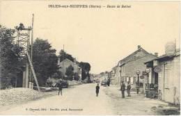Isles Sur Suippes – Route De Rethel ( Garage Enseignes Citroën, Pompe Essence Eco) - France