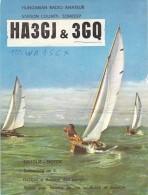 Amateur Radio QSL Card - HA3GQ - Hungary - 1974 - 2 Scans - Radio Amateur