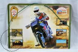 Rally Dakar 1987 - Paris - Alger - Dakar - Spanish Sticker Album/ Folder - Trading Cards
