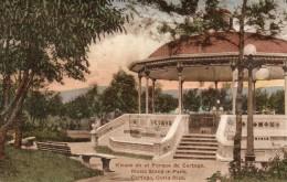 67Gc    Costa Rica Cartago Kiosco En El Parque - Costa Rica