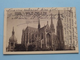 St. PIETER En PAUWEL Kerk ( U.P.B ) Anno 1937 ( Zie Foto Voor Details ) !! - Oostende