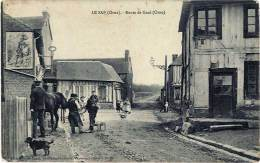 Le Sap – Route De Gacé (Orne) , Maréchal Ferrant - France