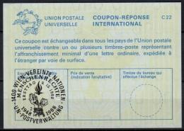 UNITED NATIONS VIENNA MENSCHENRECHTE 1948-1988  O FD! 09.12.88 ( No. 2 ) Int. Reply Coupon Reponse IRC IAS Antwortschein - Cartas