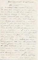 WW1 -24 Déc. (1914) - GODEWAERSVELDE (59) - LETTRE DE SOLDAT - Combat De LUNEVILLE, NANCY TOUL, Bataille De L´YSER, - Documents Historiques