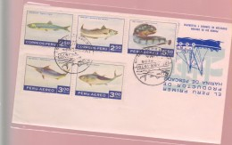 O) 1970 PERU, INDUSTRY -ECONOMY, FOOD - FIRST PRODUCER OF FISH MEAL, FDC XF - Peru